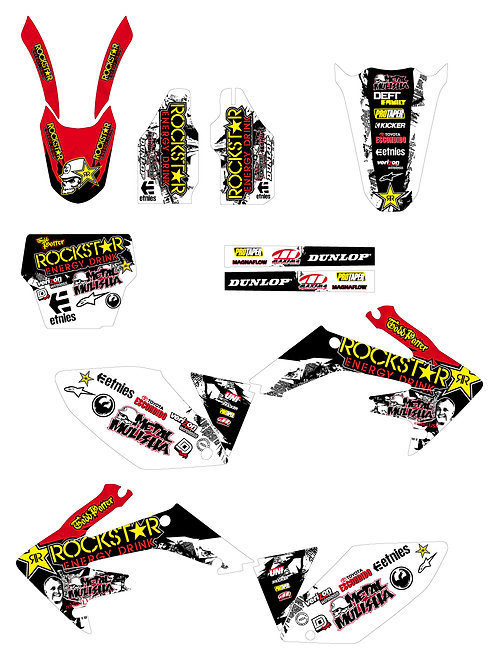 CRF 250R 04-05 %100 scale