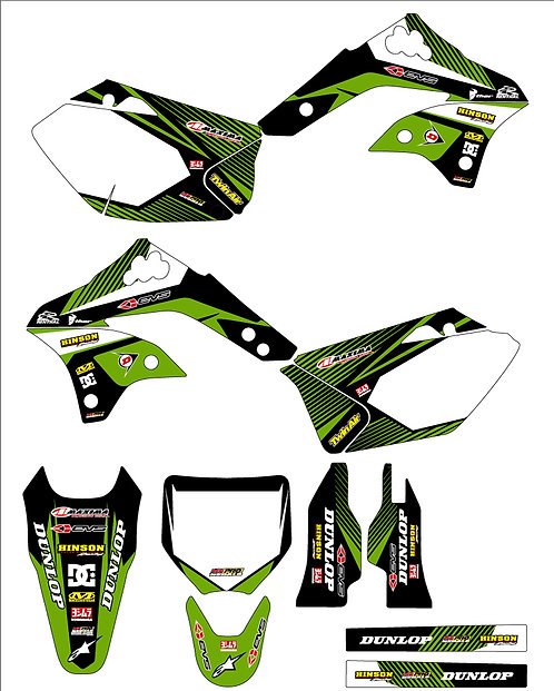 KX450F 2006 to 2008 %100 scale