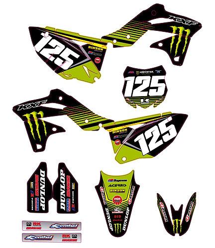 KX 250F 2013 2014 2015 2016 %100 scale
