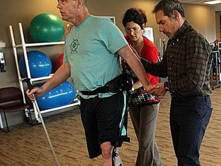 Sierra Vista Herald: New brace, therapy helping stroke victim walk again
