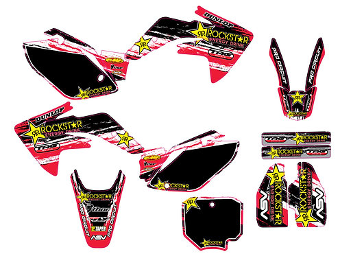 CRF 150R 07-15 %100 scale