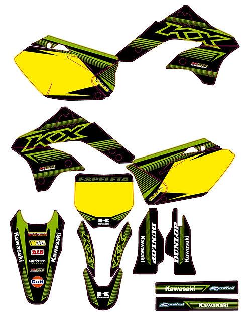 KX450F 2006 to 2008 %100 scale