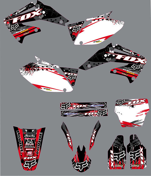 CRF 450R 02-04 %100 scale