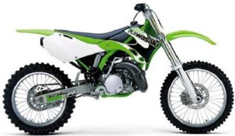 KX 125-250 1999 to 2002