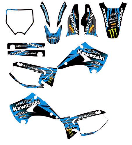 KX 125-250 03-12 %100 scale