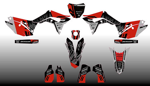 CRF250 18/20 CRF450 17-20 %100 scale