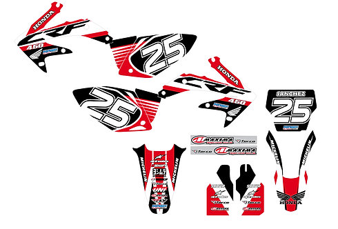 CRF 450R 05-08 %100 scale
