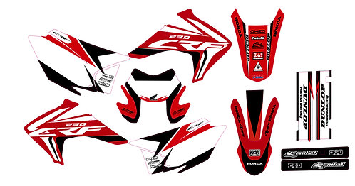 CRF 150-230 2015/2019 %100 scale