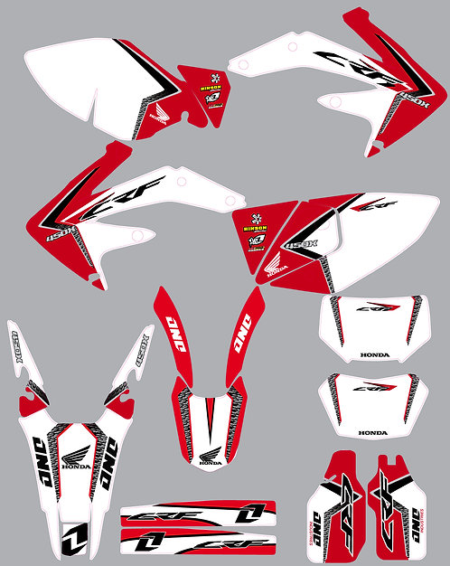 CRF 450X 05-16 %100 scale