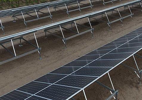 ground mount solar panels