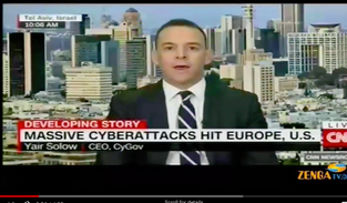 Yair Solow on CNN