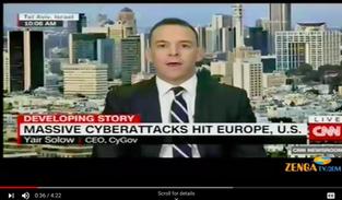 Yair Solow on CNN