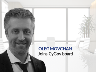 Cygov Continues Upward Growth - Oleg Movchan Joins Board of Directors