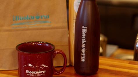 Bookworm mug and bottle