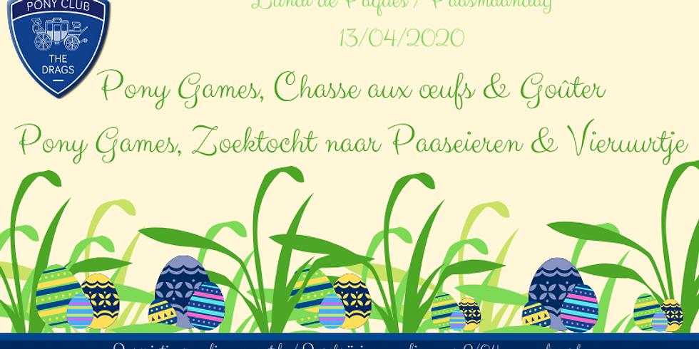 Lundi de Pâques - Paasmaandag 13/04/2020
