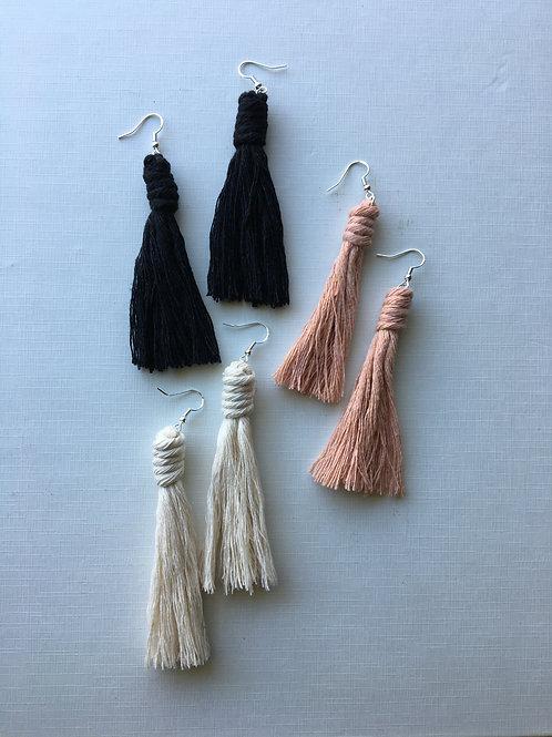 """""""Tassel Earrings"""" (by Haley Perez)"""