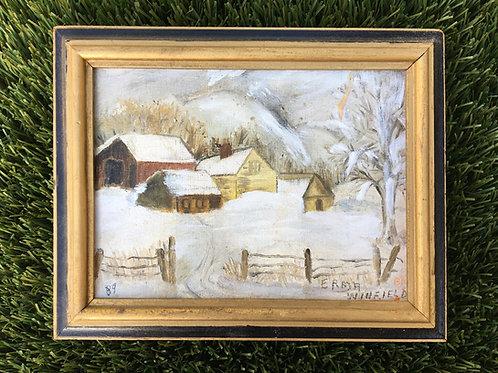 """Snowy Farm"" (by Erma Winfield)"