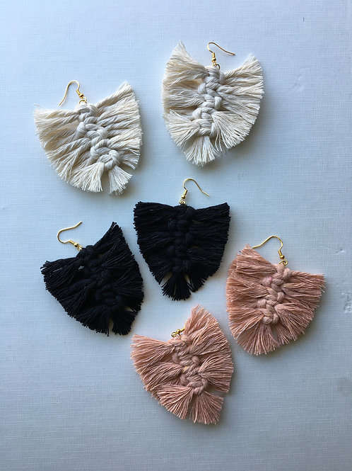 """""""Feather Earrings"""" (by Haley Perez)"""