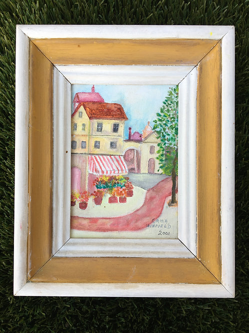 """""""Town Market"""" (by Erma Winfield)"""