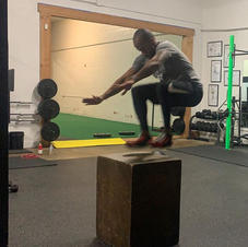 Box Jumps for Breakfast!