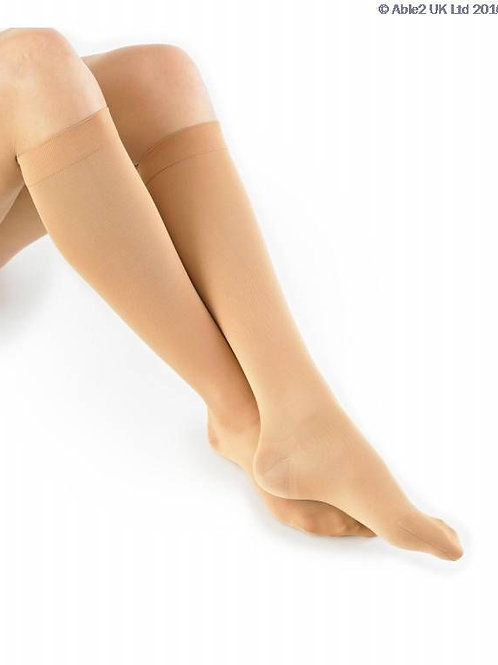 Neo G Travel & Flight Compression Socks - Beige - Small