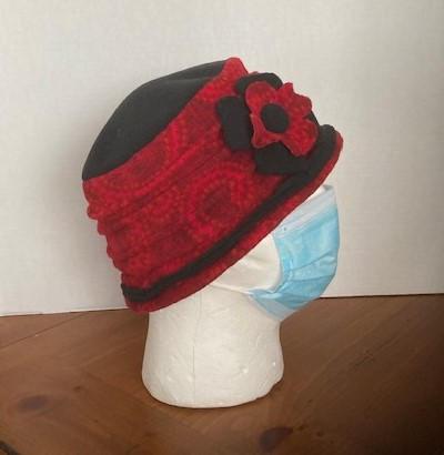 Burgandy Hat