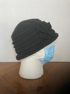 Black Solid Hat