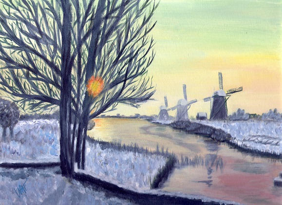 """Amsterdam in Winter"""