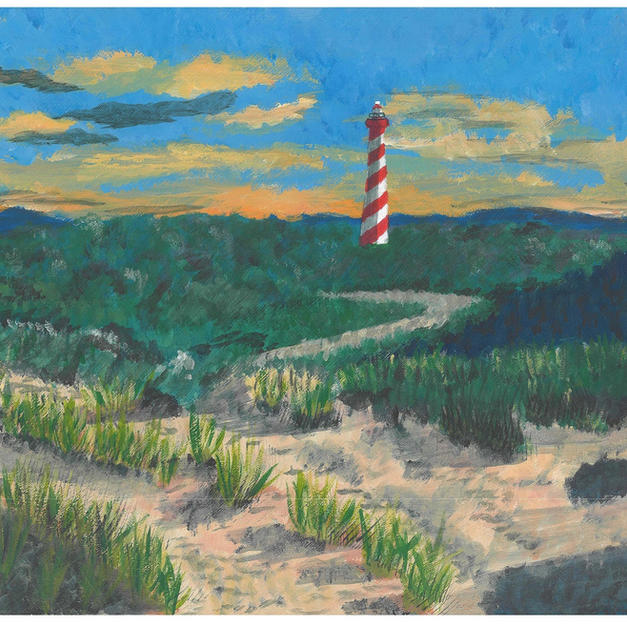 """Lighthouse in Zeeland, The Netherlands"""