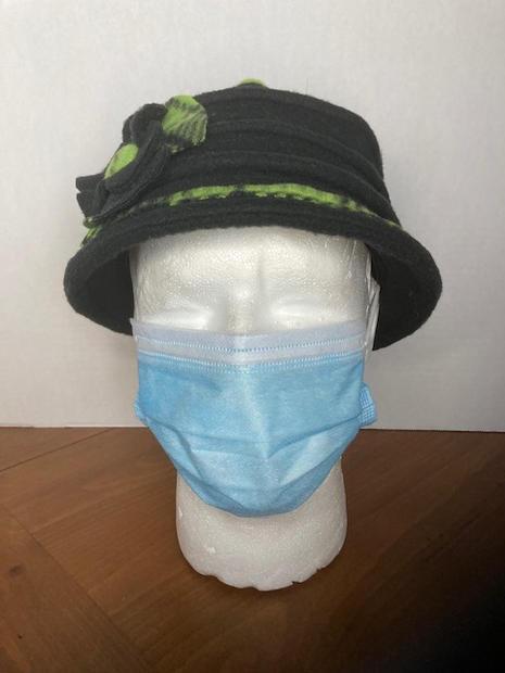 Green Plaid Hat