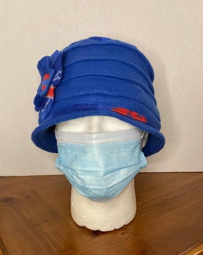 Sporty Hat - Blue Solid