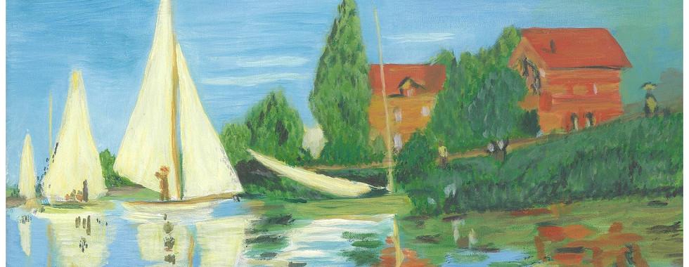 Monet - Regatta at Argenteuil, 1872