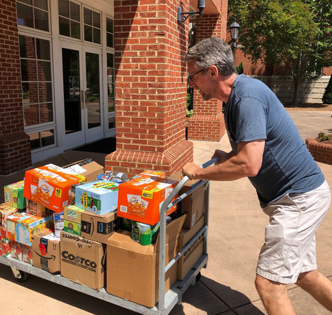 Hauling food that will support families