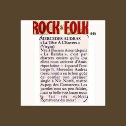 ROCKANDFOLK MAGAZINE FRANCE 1988
