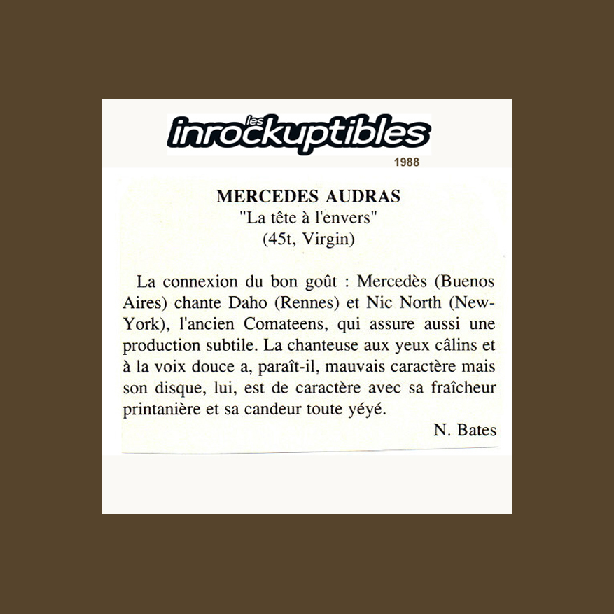 LES INROCKUPTIBLES FRANCE 1988