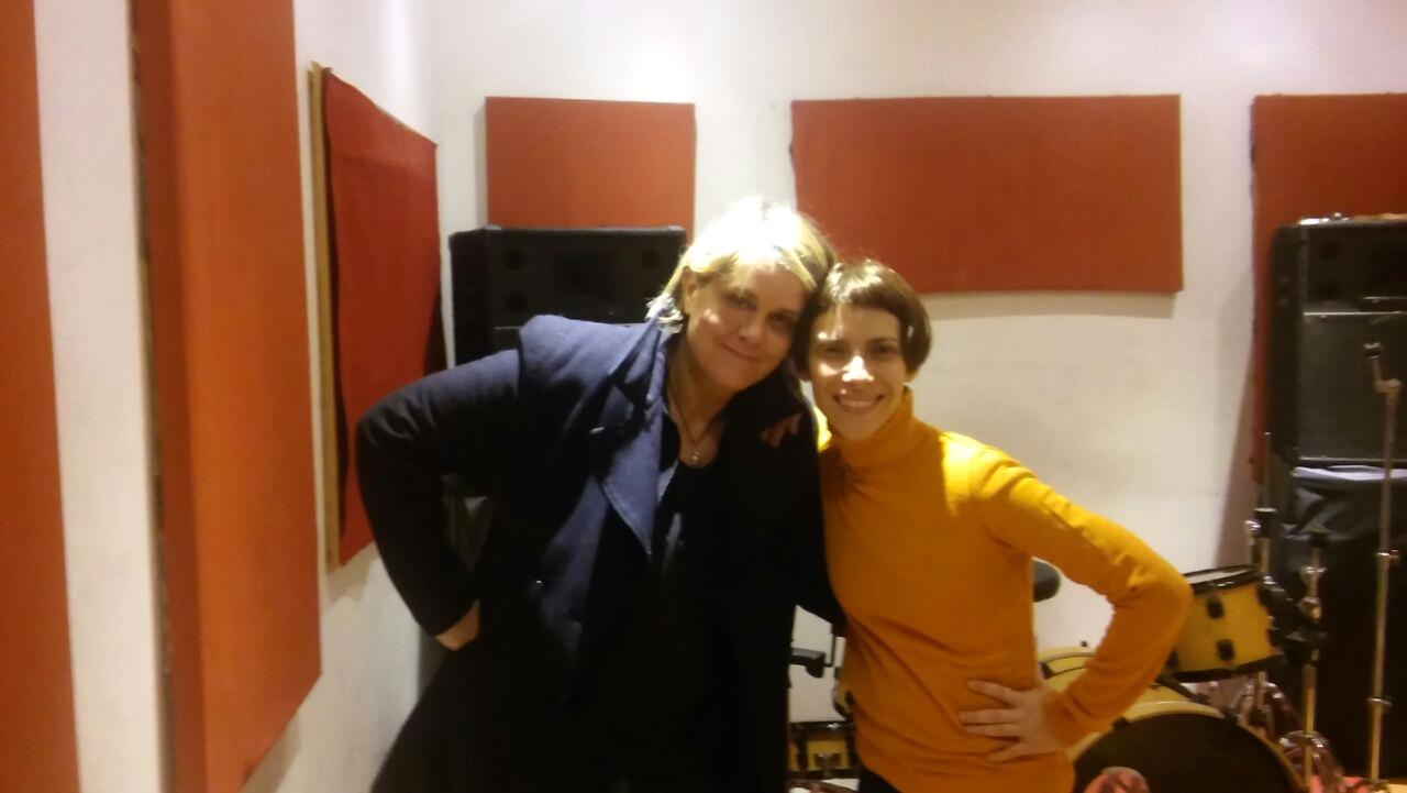 con Elena Roger