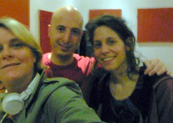 con Ines Efron y Javier Cervi