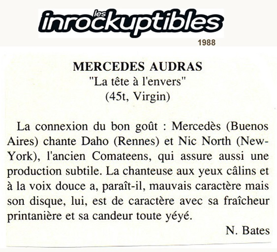 LES INROCKUPTIBLES 1988
