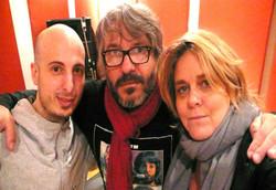 con Javi Cervi y Manuel Moretti