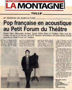 LA MONTAGNE FRANCE 1997