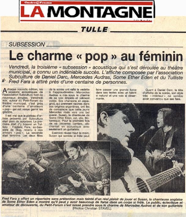 LA MONTAGNE 1997