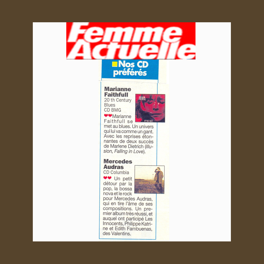 FEMME+ACTUENNE+FRANCE+1997