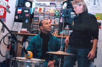 Studio Recording Franck M Boueke et Mercedes Audras France