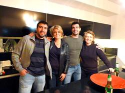 Bruno Me Alberto Moles & MariaAudras