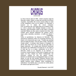 CHORUS+MAGAZINE+FRANCE+1997