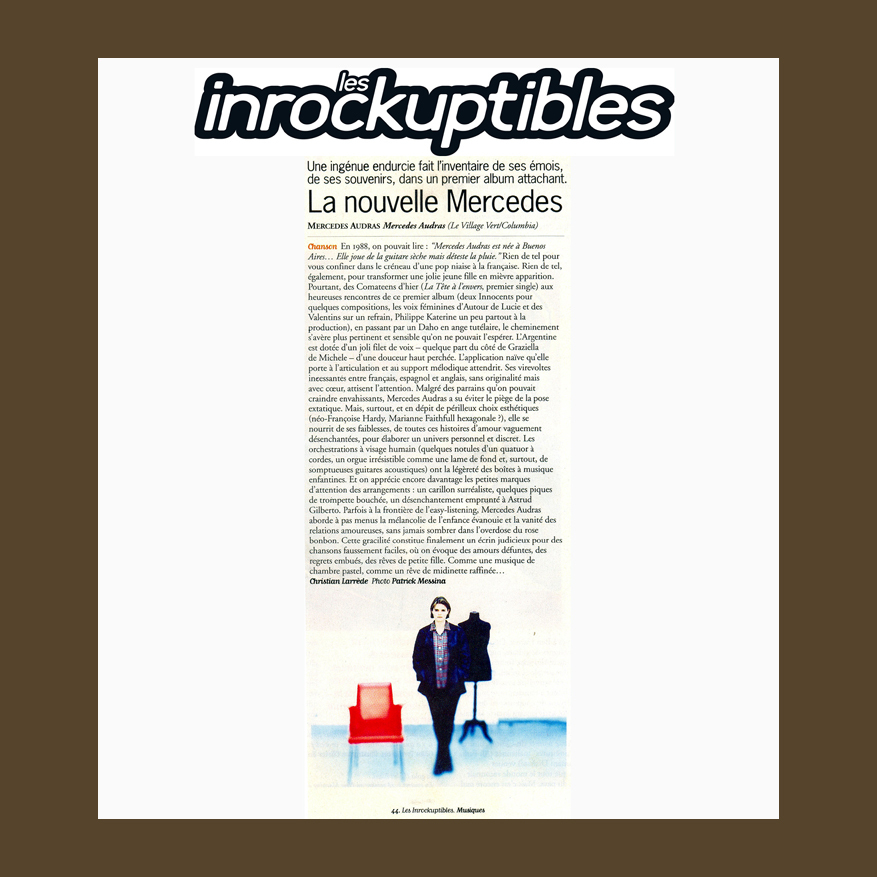 LES+INROCKUPTIBLES+FRANCE+1997
