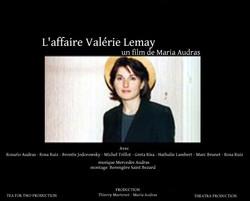 L AFFAIRE VALERIE LEMAY un FILM de MARIA