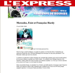 L+EXPRESS+LE+PRINTEMPS+DE+BOURGES+FRANCE
