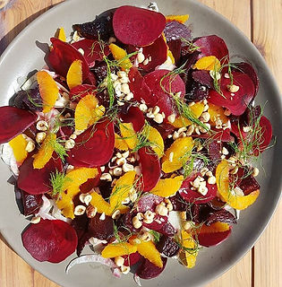 Cargo Catering Co. beetroot salad Adelaide Catering