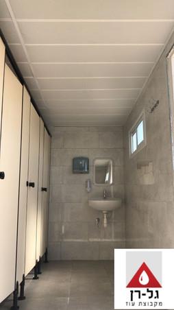 מכולת 6 תאי מקלחת טרספות כולל מבואה - פנ